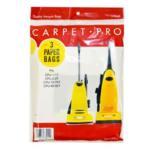 Carpet Pro Vacuum Bags (3pk)