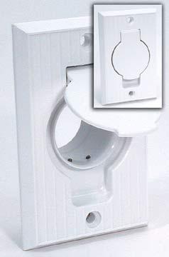 Universal White Standard Inlet