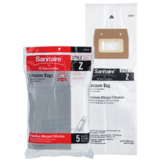 Sanitaire Style Z Synthetic Bag 63881A